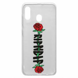 Чехол для Samsung A30 RipnDip rose