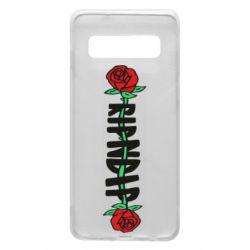 Чехол для Samsung S10 RipnDip rose