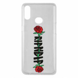 Чехол для Samsung A10s RipnDip rose