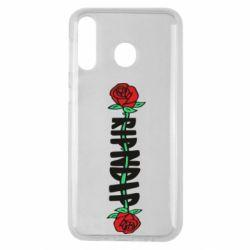 Чехол для Samsung M30 RipnDip rose