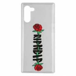 Чехол для Samsung Note 10 RipnDip rose