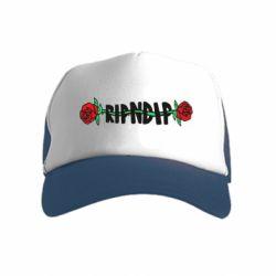 Детская кепка-тракер RipnDip rose