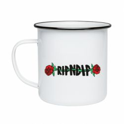 Кружка эмалированная RipnDip rose