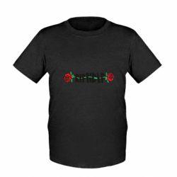 Детская футболка RipnDip rose