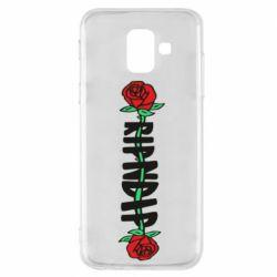 Чехол для Samsung A6 2018 RipnDip rose