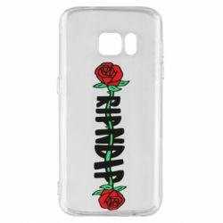 Чехол для Samsung S7 RipnDip rose