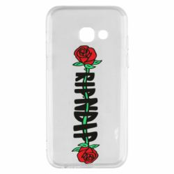 Чехол для Samsung A3 2017 RipnDip rose