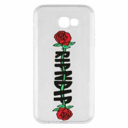 Чехол для Samsung A7 2017 RipnDip rose
