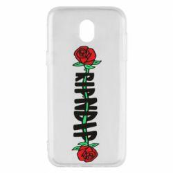Чехол для Samsung J5 2017 RipnDip rose