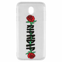Чехол для Samsung J7 2017 RipnDip rose