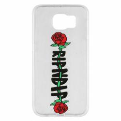 Чехол для Samsung S6 RipnDip rose