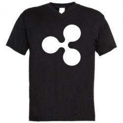 Чоловіча футболка з V-подібним вирізом Ripple