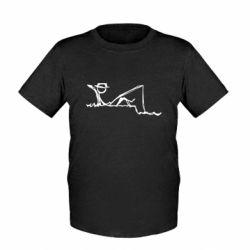 Детская футболка Рисунок Рыбалка