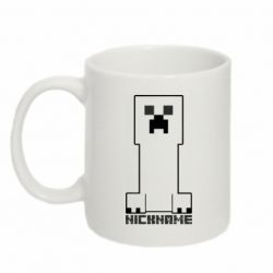 Кружка 320ml Minecraft game and nickname