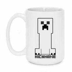 Кружка 420ml ritMinecraft game and nickname
