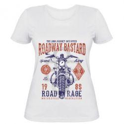 Жіноча футболка Roadway Bastard