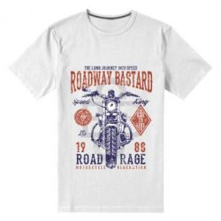 Чоловіча стрейчева футболка Roadway Bastard