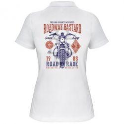 Жіноча футболка поло Roadway Bastard