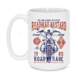 Кружка 420ml Roadway Bastard