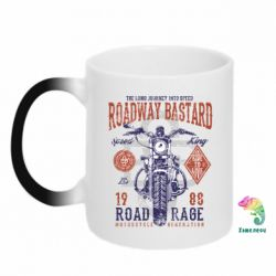 Кружка-хамелеон Roadway Bastard