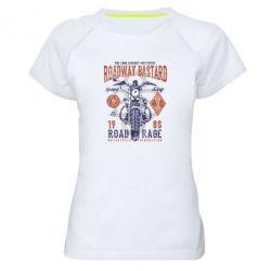 Жіноча спортивна футболка Roadway Bastard