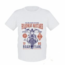 Дитяча футболка Roadway Bastard