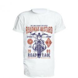 Подовжена футболка Roadway Bastard