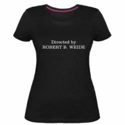 Женская стрейчевая футболка Robert weide