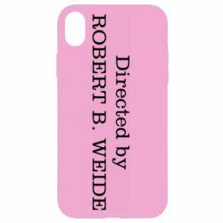 Чехол для iPhone XR Robert weide