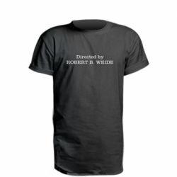 Удлиненная футболка Robert weide