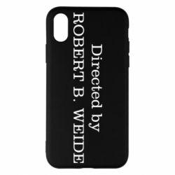 Чехол для iPhone X/Xs Robert weide