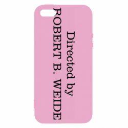 Чехол для iPhone5/5S/SE Robert weide