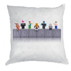 Подушка Roblox characters plastic