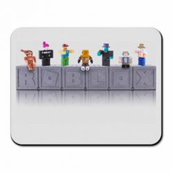 Килимок для миші Roblox characters plastic