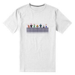 Чоловіча стрейчева футболка Roblox characters plastic