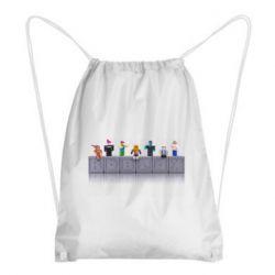 Рюкзак-мішок Roblox characters plastic