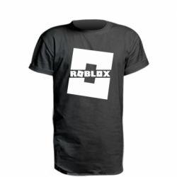 Удлиненная футболка Roblox game