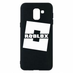 Чехол для Samsung J6 Roblox game