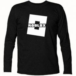 Футболка с длинным рукавом Roblox game