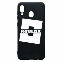 Чехол для Samsung A20 Roblox game