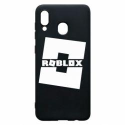 Чохол для Samsung A20 Roblox game