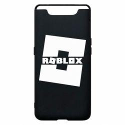 Чехол для Samsung A80 Roblox game
