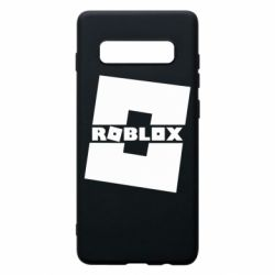 Чехол для Samsung S10+ Roblox game