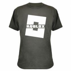 Камуфляжная футболка Roblox game