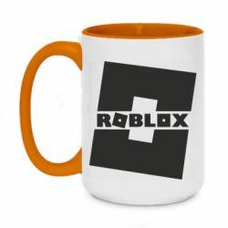 Кружка двоколірна 420ml Roblox game
