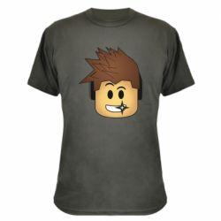 Камуфляжная футболка Roblox head
