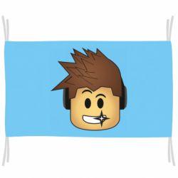 Флаг Roblox head