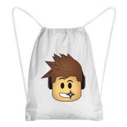 Рюкзак-мешок Roblox head