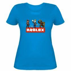Женская футболка Roblox Heroes