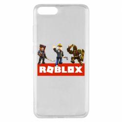 Чехол для Xiaomi Mi Note 3 Roblox Heroes